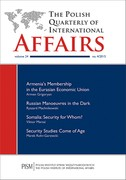 The Polish Quarterly of International Affairs - eprasa pdf