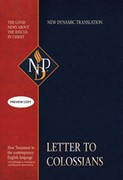 Letter to Colossians (NPD) - ebook epub, mobi