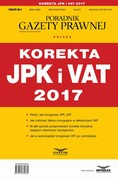 Korekta JPK i VAT 2017 - ebook pdf